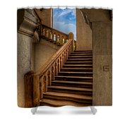 Stairway To Heaven Shower Curtain by Adrian Evans
