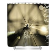 State Of The Art Shower Curtain by David Lee Thompson