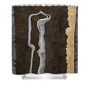 Stone Men 01 - Her Shower Curtain by Variance Collections