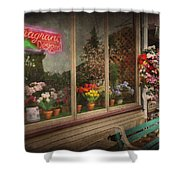 Store - Belvidere Nj - Fragrant Designs Shower Curtain by Mike Savad