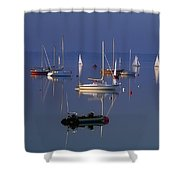 Strangford Lough, Co Down, Ireland Shower Curtain by Sici