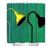 Street Life Shower Curtain by Paul Wear