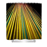 String Theory Shower Curtain by Hakon Soreide