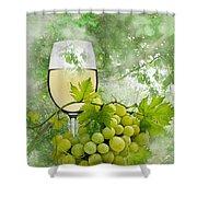 Summer Evening Shower Curtain by Manfred Lutzius