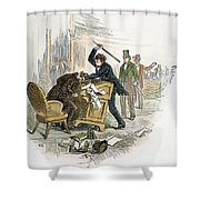 Sumner And Brooks, 1856 Shower Curtain by Granger