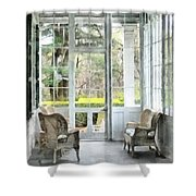Sun Porch Shower Curtain by Susan Savad
