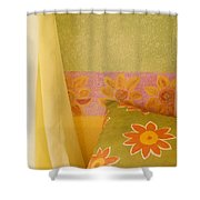 Sunny Morning Shower Curtain by Jerry McElroy