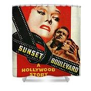 Sunset Boulevard Shower Curtain by Georgia Fowler