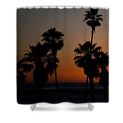 sunset in Califiornia Shower Curtain by Ralf Kaiser