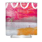 Sweet Summer Day Shower Curtain by Linda Woods