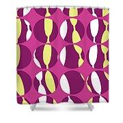 Swirly Stripe Shower Curtain by Louisa Knight