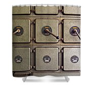 switch panel Shower Curtain by Carlos Caetano