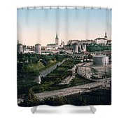 Tallinn Estonia - Formerly Reval Russia Ca 1900 Shower Curtain by International  Images
