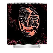 Tattoo Artist Shower Curtain by Natalie Holland