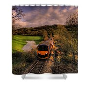 Taw Valley Shower Curtain by Rob Hawkins