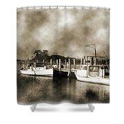 The Bayou Shower Curtain by Barry Jones