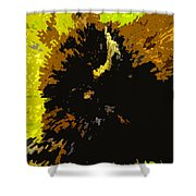 The Bison Hunt Shower Curtain by David Lee Thompson