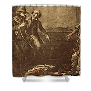 The Capture Of Margaret Garner Shower Curtain by Photo Researchers
