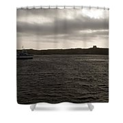 The Channel Shower Curtain by Focus  Fotos