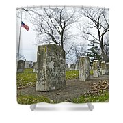 The Cost of War 0063 Shower Curtain by Michael Peychich