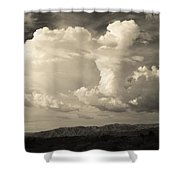 The Drama Shower Curtain by Laurie Search