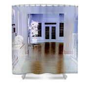 The Forgotten House Shower Curtain by Renee Trenholm