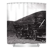 The Good Old Days Shower Curtain by Susanne Van Hulst