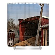 The Grain Barn Shower Curtain by Paul Ward