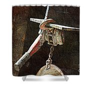 The Great Hoist Shower Curtain by Andee Design