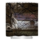 The Hideout Shower Curtain by Ron Jones