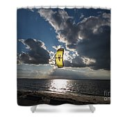 The Kite Shower Curtain by Rrrose Pix