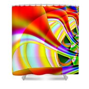 The Marching Band . S14 Shower Curtain by Wingsdomain Art and Photography