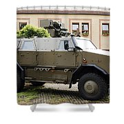 The Multi-purpose Protected Vehicle Shower Curtain by Luc De Jaeger
