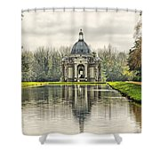 The Pavillion Shower Curtain by Chris Thaxter