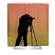 The Photographer Shower Curtain by Paul Ward