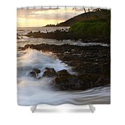 The Poets Love Song Shower Curtain by Sharon Mau