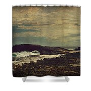 The Sea Shower Curtain by Laurie Search