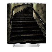 The Stairwell Shower Curtain by Cheryl Young