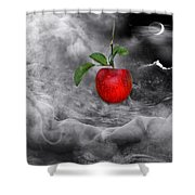 The Tamptation Shower Curtain by Manfred Lutzius