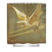 The Thief Of Bagdad Shower Curtain by Nomad Art And  Design