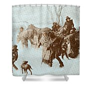 The Underground Railroad Shower Curtain by Photo Researchers