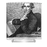 Thomas Paine (1737-1809) Shower Curtain by Granger