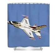 Thunderbird Slats Shower Curtain by Tim Mulina