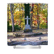 To The Unknown Dead Shower Curtain by Renee Trenholm