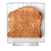 Toast Shower Curtain by Photo Researchers, Inc.