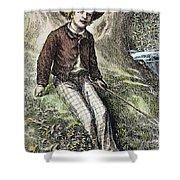 Tom Sawyer, 1876 Shower Curtain by Granger