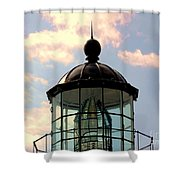 Top Of Bonita Lighthouse Shower Curtain by Kathleen Struckle