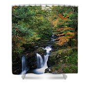 Torc Waterfall, Ireland,co Kerry Shower Curtain by The Irish Image Collection