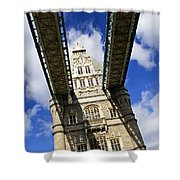 Tower Bridge In London Shower Curtain by Elena Elisseeva