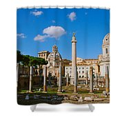 Trajan's Market Shower Curtain by Eric Tressler